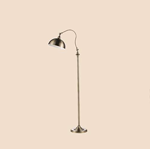 lampadaire Lampadaire Industriel De Style Vintage, Lampadaire À Bras Réglable, Corps En Cuivre Rétro, Salon Chambre