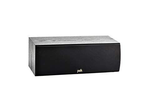 Polk Audio T30 100 Watt Home Theater Center Channel Speaker (Single) - Premium Sound at a Great Value | Dolby and DTS Surround (Renewed)
