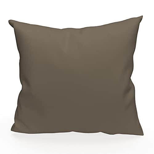Soleil d'ocre 527234 Fodera per cuscino 40 x 40 cm ALIXMoka diSoleil d'Ocre