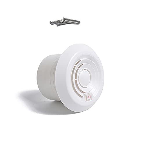 SUIDSFKDFJS Ventilador de ventilación, ventilador de enfriamiento de escape silencioso en forma de hongo de 12 V 1800 rpm, fácil de limpiar, larga vida útil, adecuado para remolques de caravanas