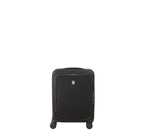 Victorinox Connex Softside Spinner Luggage, Black, Carry-On-Global (22')