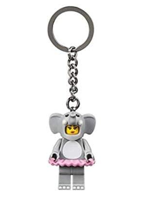 LEGO Llavero de disfraz de elefante para niña