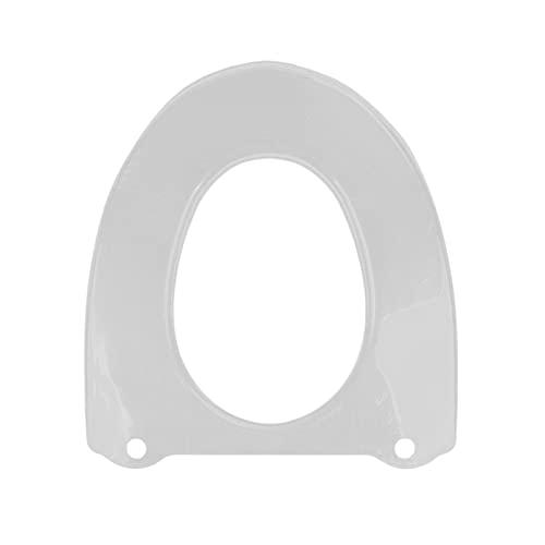 Almohadillas para asiento de inodoro, cojín transparente impermeable portátil, plástico reutilizable, tapetes universales para asiento de inodoro para el hogar y el baño