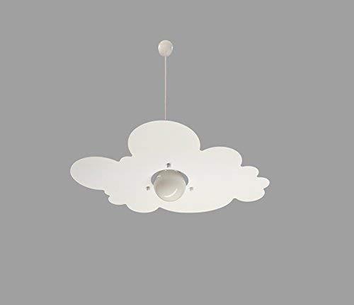 Lampadario per Cameretta Stanzetta Bambini Nuvola Bianco