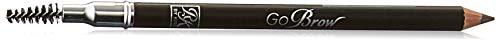 Kiss Go Brow Eyebrow Wooden Pencil Dark Brown (6 Pieces)