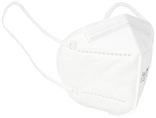 Tai Da Kang, KN95 Einweg-Gesichtsschutzmasken, 94% Filtration (Packung mit 50 Stück)