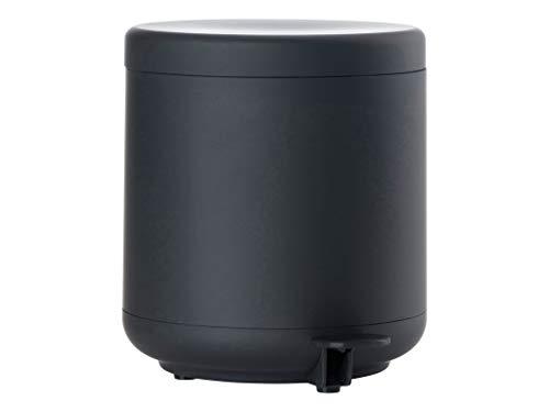 Zone Denmark Ume Mülleimer/Abfalleimer fürs Badezimmer, 4 Liter, schwarz