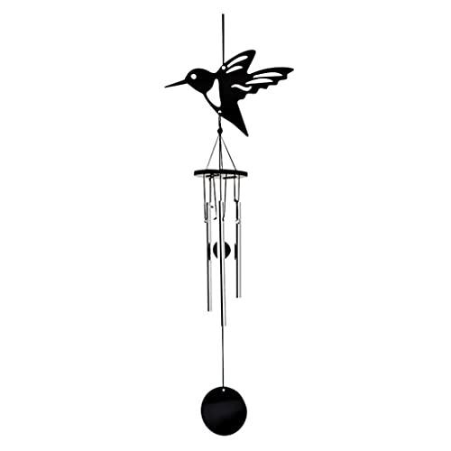 SPNEC Vida al aire libre Forma de pájaros Viento Chimes de viento Jardín Jardín Campanas Viento de madera Viento de la pared Colgando Decoración para el hogar Decoración de la decoración Chimes de vie