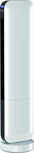 """Sharper Image 36"""" White ETL Certified Tower Fan with Remote Control"""