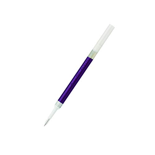 Pentel LR7-VX Nachfüllmine für EnerGel-Stifte, 0,7 mm Kugelspitze, violett, 12 Stück