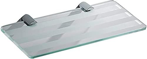 Estante de ducha para baño, estante de cristal, estante de ducha, rectangular (8 mm de grosor) (color: Style1) (color: Style1)