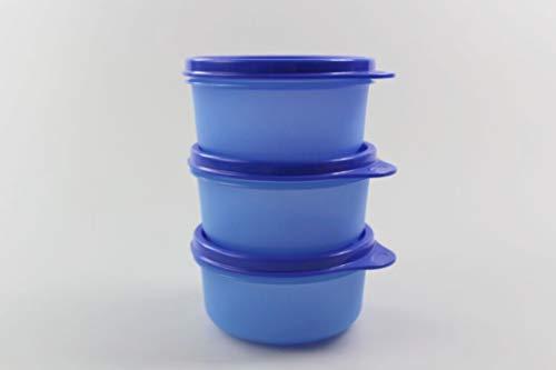 Tupperware Kühlschrank Julchen (3) 200ml dunkelblau Dose Box Behälter