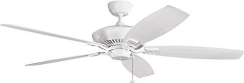 """Kichler 300188dbk, ventilador de techo negro envejecido Energy Star 60""""ventilador de techo"""