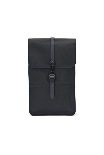 RAINS Backpack, Sac à Dos Mixte, Noir (Black), 29.0x45.0x10.0 cm (W x H x L)
