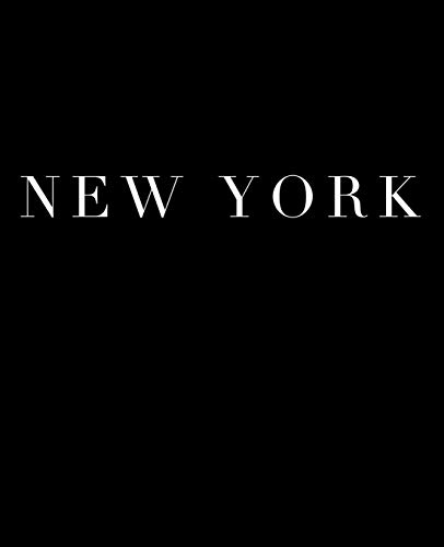 New York: A decorative book for coffee tables, bookshelves and interior design styling | Stack deco books together to create a custom look in any room