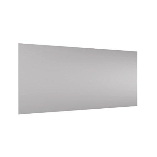 Bilderwelten Panel antisalpicaduras de Cristal - Agate Gray - Horizontal 1:2, Panel antisalpicaduras Panel de Vidrio para Cocina Panel Protector contra Salpicaduras, Tamaño: 40cm x 80cm