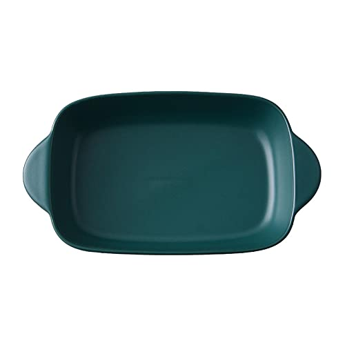 1 Piece Baking Sheets Nonstick Binaural Ceramics Square Dish Microwave Oven Available
