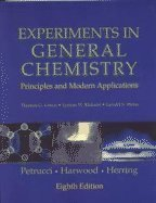 Experiments in General Chemistry: Principles and Modern Applications (8th Edition)