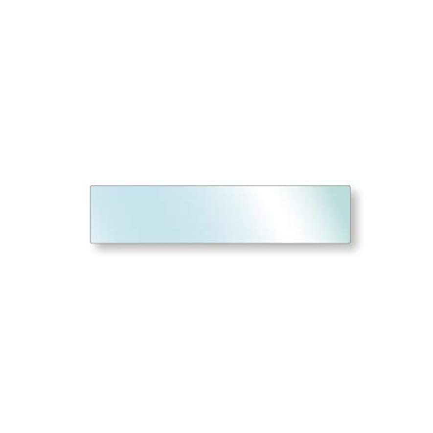 くるみ静かに有益強化ガラス 厚み5mm 900×200mm 四角形 4隅R加工 ミガキ サイズオーダー対応
