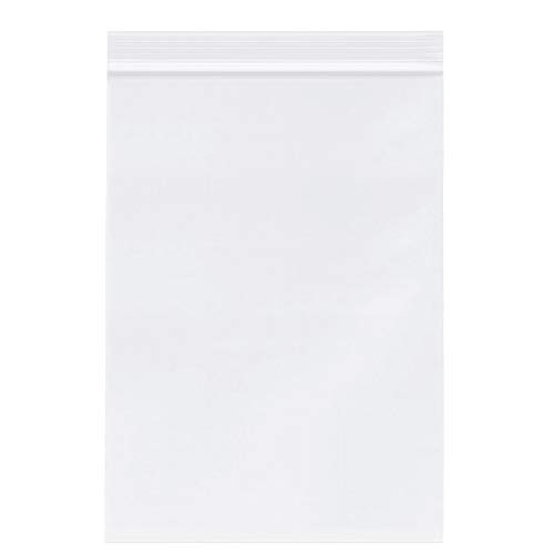 """5"""" X 7"""" (1000 PCS) Clear Reclosable Zip Poly Plastic Bags - Double Layer 3.15 Mil Resealable Lock Seal Zipper Poly Bags for for A2 A4 A6 Cards & Envelopes, Storage, Packaging"""