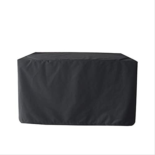 HTHJA Oxford Funda Protectora para Mesa de Comedor,,Cubierta de Muebles al Aire Libre Negra 210d, Cubierta Impermeable para mesas y sillas de jardín 240 * 136 * 88cm