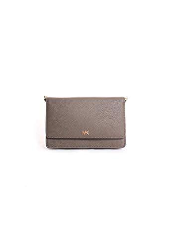 Michael Kors Phone Leather Crossbody Handbag in Olive