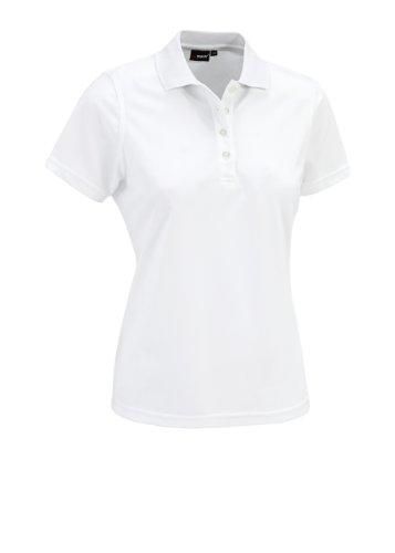 Maier Sports Polo pour Femme Sina 1/2 Bras 46 Blanc - Blanc