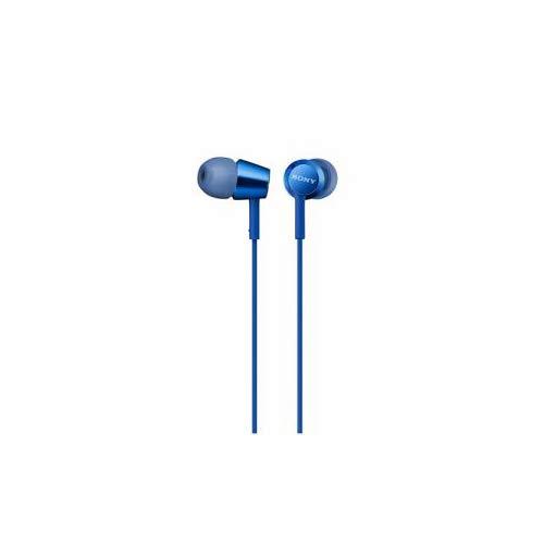 ソニーイヤホンMDR-EX155:カナル型ブルーMDR-EX155LI