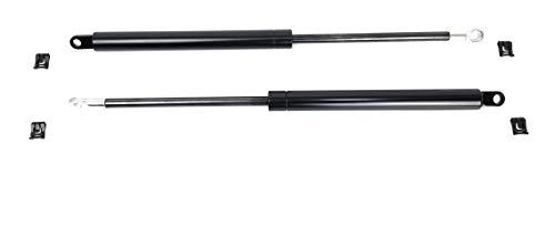 Coppia PISTONE di Ricambio per Letto Contenitore con Testina Foro Passante, interasse 415 mm, Potenza 1000 N, Pistoni per Letto Contenitore 1000 N