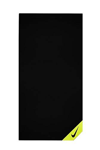 NIKE NTTD1023NS Toalla Tiempo Libre y Sportwear, Adultos Unisex, Multicolor (Black/Volt), Talla...