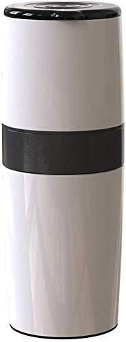 LXYZ Espressomaschine, tragbare manuelle Kaffeemühle, einstellbare Kaffeemaschine mit Einer Tasse Keramik-Kaffeemühle mit integriertem Mahl- und Brühsystem für Reisecampingbüro, blau