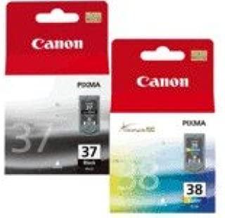 Canon PG-37/CL-38 - Cartucho de Tinta para impresoras (Negro, Cian ...