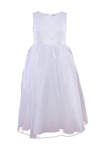 Une Hautre Couture Edel Kommunionkleid aus Seide Kommunion Kleid 12A (152)