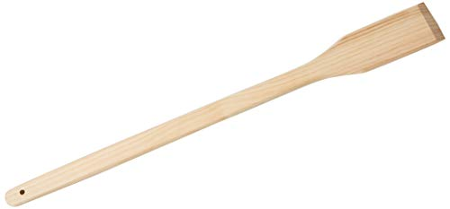 Winco WSP-36 Wooden Stirring Paddle, 36-Inch, Medium, Brown