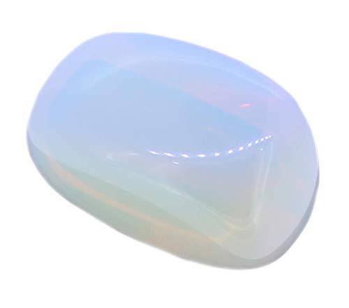 Budawi® - Opalglas Trommelstein Handschmeichler Handstein Taschenstein