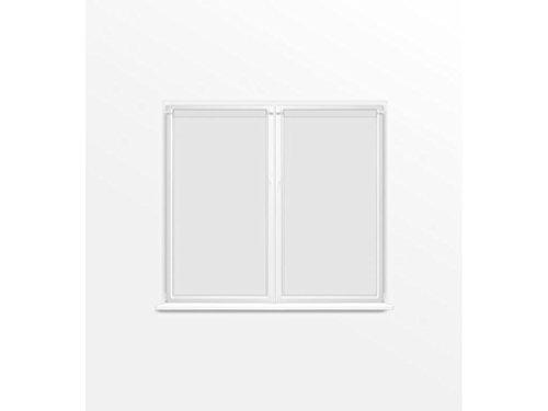 Soleil d'ocre Coppia di Tendine a Vetro 70x120 cm Dolly Bianco