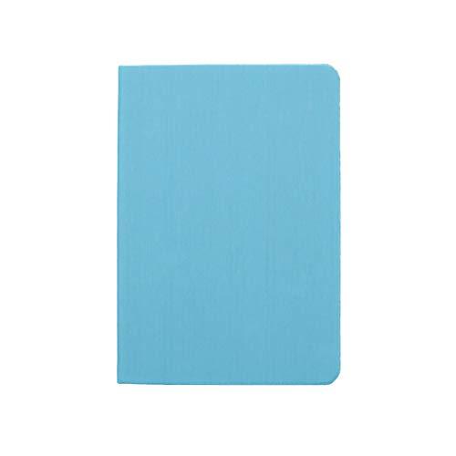 ZRL Multifuncional Journal Libreta Clásico Cuaderno Rayado, Cubierta Dura, Grande Gobernado/Forrado, con Espiral Cuaderno, A5 112 páginas, Cubiertas múltiples del Color Classic Diario (Color : Azure)