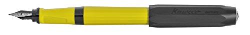 Kaweco Füllfederhalter Perkeo Indian Summer I Füllhalter für Tintenpatronen Schulfüller I Anfänger Füller mit ergonomischem Griffstück zum bequemen schreiben I Federbreite: F (Fein)