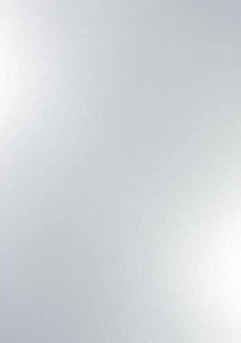 100 x Perlmutt-Weiß 120g Papier DIN A4 210x297mm Majestic Marble White metallic glänzend Perlglanz Pearl-Karton für Hochzeit, Geburtstag, Taufe, Weihnachten, Einladungen, Visitenkarten
