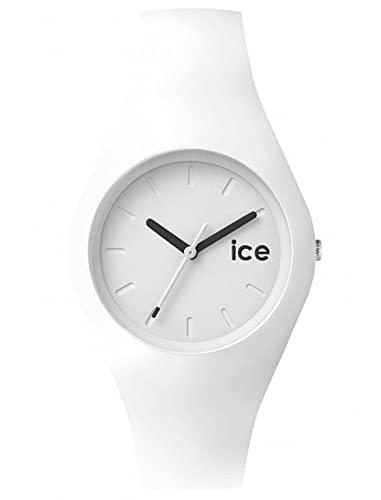 Ice-Watch Ice Ola White, Orologio Bianco da Donna con Cinturino in Silicone, 001227, Medium