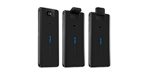 "ASUS ZenFone 6 (ZS630KL-S855-6G64G-BK) - 6.4"" FHD+ 2340x1080 All-Screen NanoEdge..."