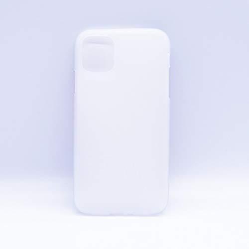 Dmtrab para Color sólido Matte TPU Soft Shell Protección de teléfono móvil Tapa Trasera para iPhone 11 (Negro) (Color : White)