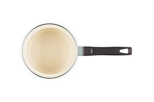 ル・クルーゼ(LeCreuset)ホーロー鍋EOSソースパン14cmシーソルト【日本正規販売品】