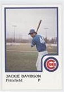 Jackie Davidson (Baseball Card) 1986 ProCards Pittsfield Cubs - [Base] #JADA