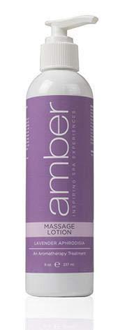 Amber Massage & Body Lavender Massage Lotion