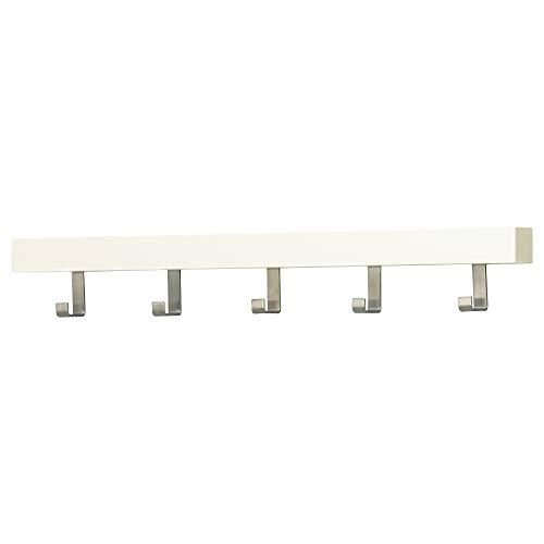 IKEA.. 702.426.56 Tjusig - Perchero de Pared o Puerta con pomos, Color Blanco