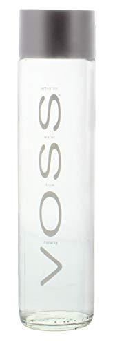 Voss STILL Gletscher Wasser in Glasflasche 0,8 Liter