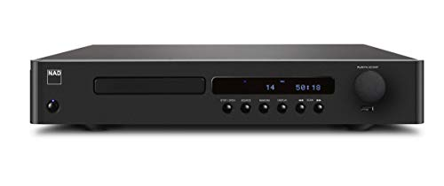 NAD C 568 Portable CD Player Negro Reproductor de CD - Unidad de CD (118 dB, 0,01%, CD de Audio, Portable CD Player, Negro, 90 dB)