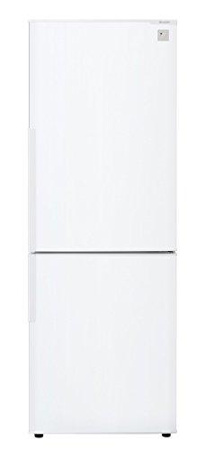 シャープ 冷蔵庫 プラズマクラスター搭載 271Lタイプ ホワイト SJ-PD27B-W
