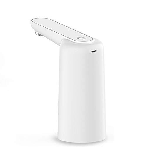 HOUJIA Dispensador de Agua Eléctrico,Dispensador de Agua para Garrafas con Adaptador,Grifo Dosificador Eléctrico Automático,Bomba Botella Agua Fria y Caliente